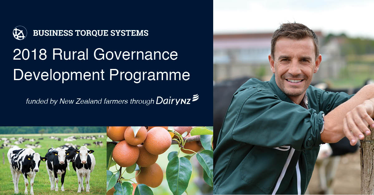 Rural Governance Development Programme Dunedin Days 1 & 2