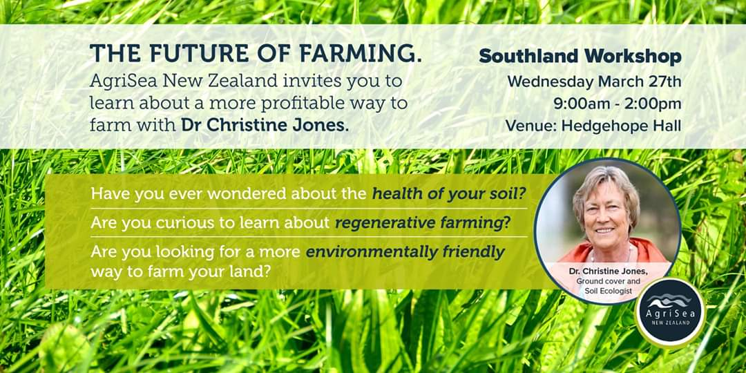 The Future of Farming - Regenerative Agriculture - Southland