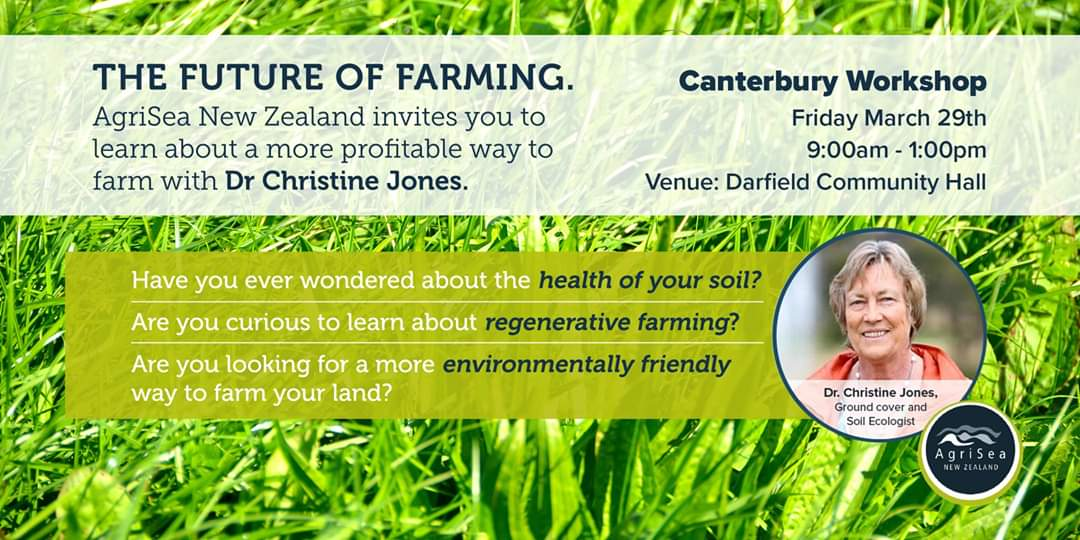 The Future of Farming - Regenerative Agriculture - Canterbury