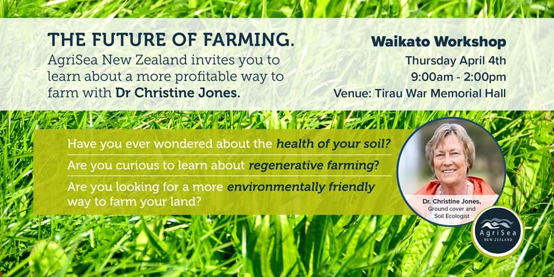 The Future of Farming - Regenerative Agriculture - Waikato